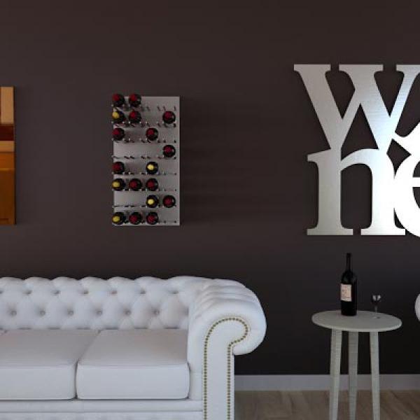 Portabottiglie da muro tutte le offerte cascare a fagiolo for Negozi online design